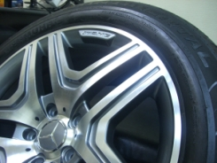 Диски W463 G63 AMG дизайн рестайлинг 2013 R20 с   резиной CONTINENTAL UHP CROSSCONTACT